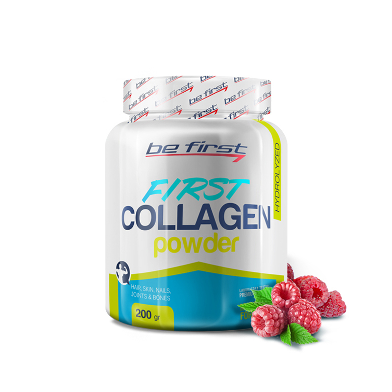 Be First Collagen powder 200 гр (малина)